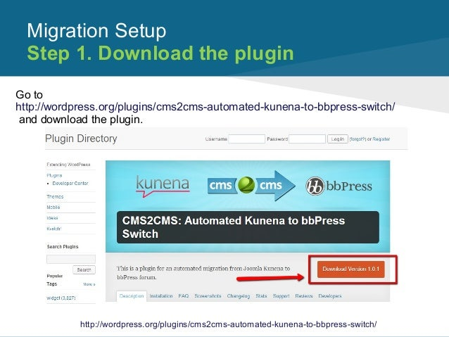 Automated Kunena to bbPress Switch Plugin  How It Works