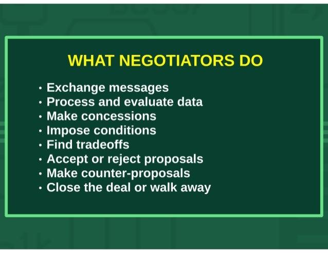 Automated Negotiation Slide 3