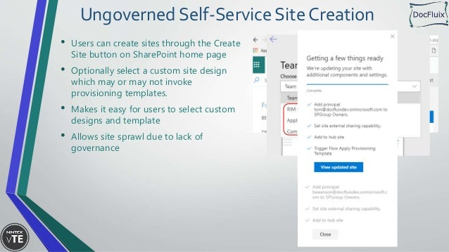 Modern Automated Site Provisioning for SharePoint Online