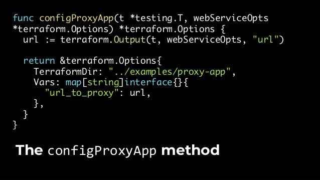 $ go test -v -timeout 15m -run TestProxyApp … --- PASS: TestProxyApp (182.44s) Run go test. You're now testing multiple mo...