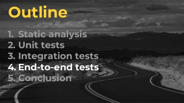 But it's rare to write end-to- end tests this way. Here's why: