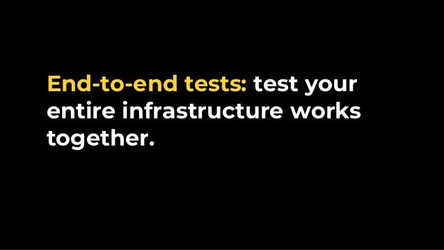 e2e Tests Test pyramid Integration Tests Unit Tests Static analysis