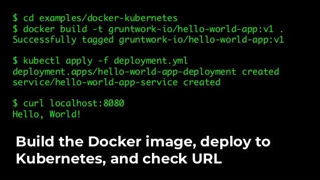 "func TestDockerKubernetes(t *testing.T) { buildDockerImage(t) path := ""../examples/docker-kubernetes/deployment.yml"" optio..."