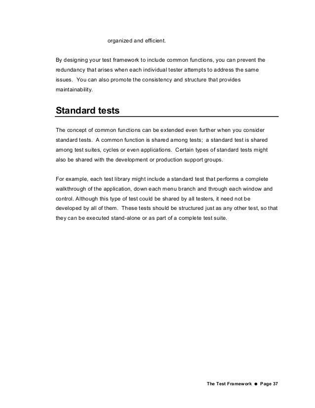 Automated Testing Handbook