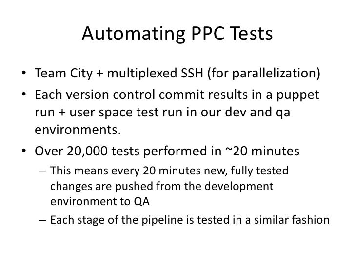 Automated Puppet Testing - PuppetCamp Chicago '12 - Scott Nottingham