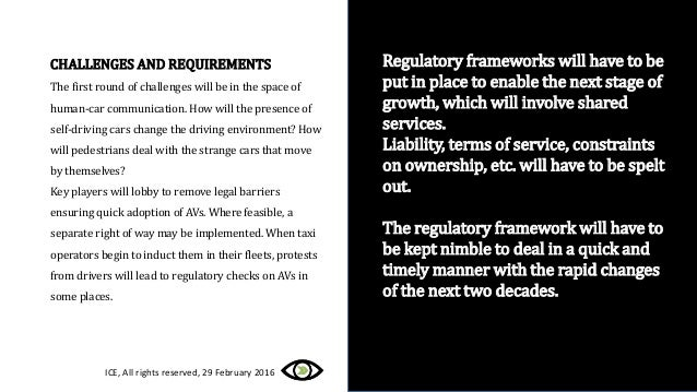Regulatory frameworks will have to be put in place to enable the next stage of growth, which will involve shared services....