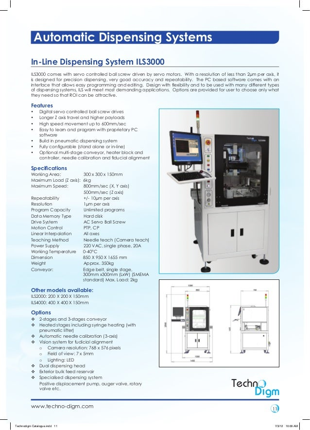 Automatic Dispensing Systems ~ Automatic dispensing systems technodigm innovation