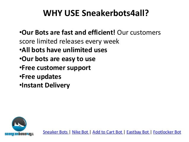 Automatically Buy Shoes - Nike Bot - Sneaker Bots - Add To