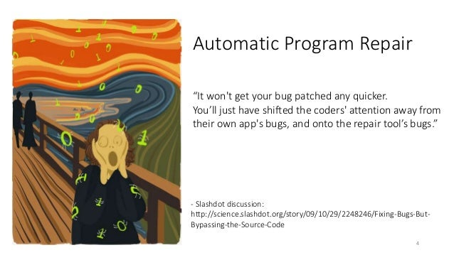 """""""It won't get your bug patched any quicker.  You'll just have shifted the coders' attention away from  their own app's bug..."""
