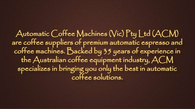 Automatic Coffee Machines-Our Products & Services Slide 2