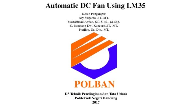Automatic DC Fan using LM35 (English version)
