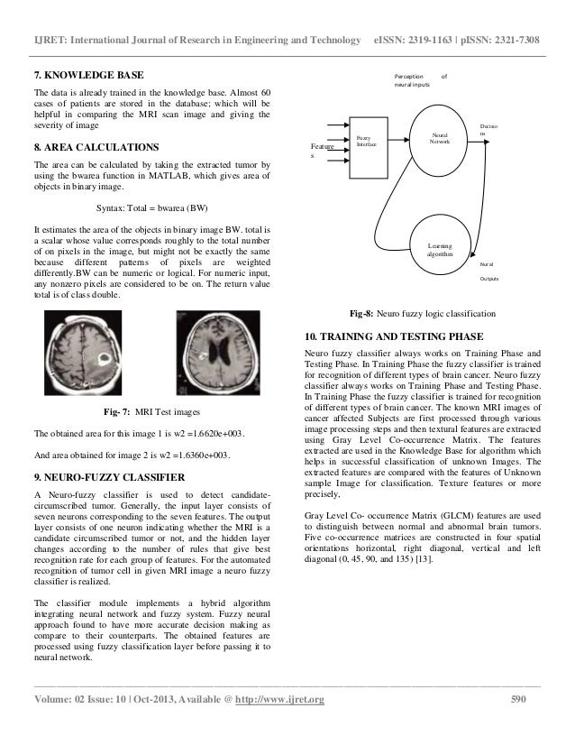 Automatic detection and severity analysis of brain tumors