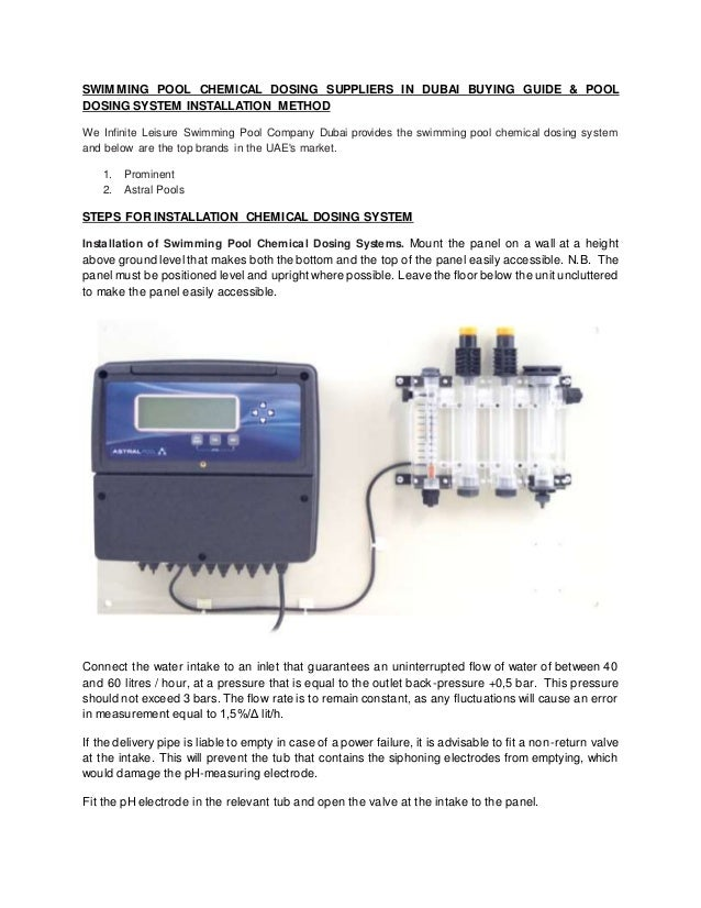 Automatic dosing system
