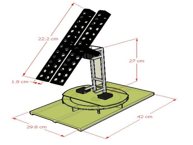 Automatic Dual Axis Solar Tracking System Eee499 Blogspot Com