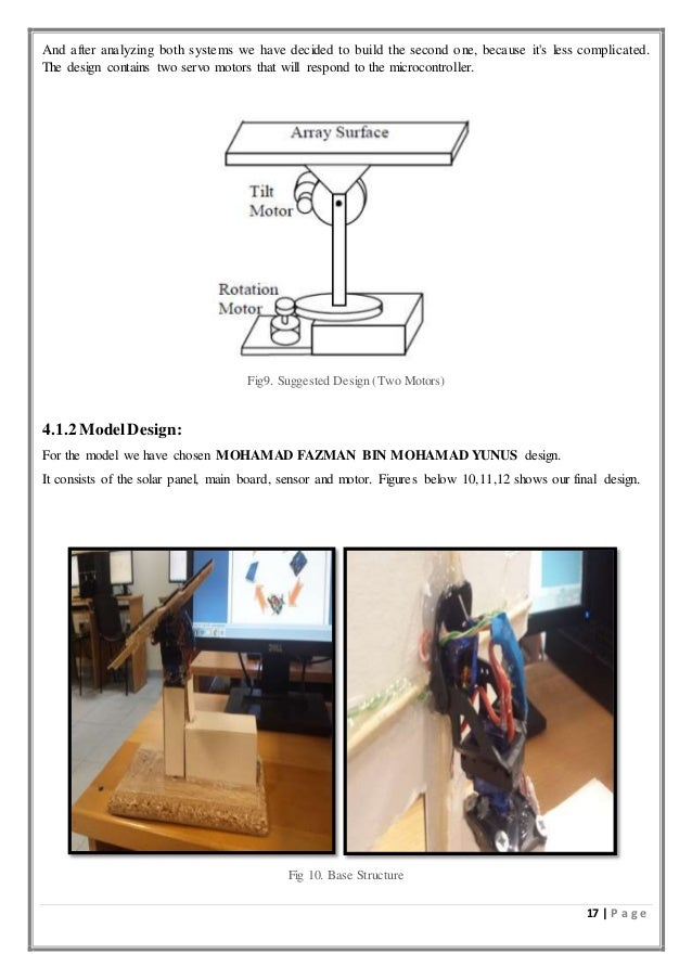 Automatic dual axis solar tracking system(eee499 blogspot com)
