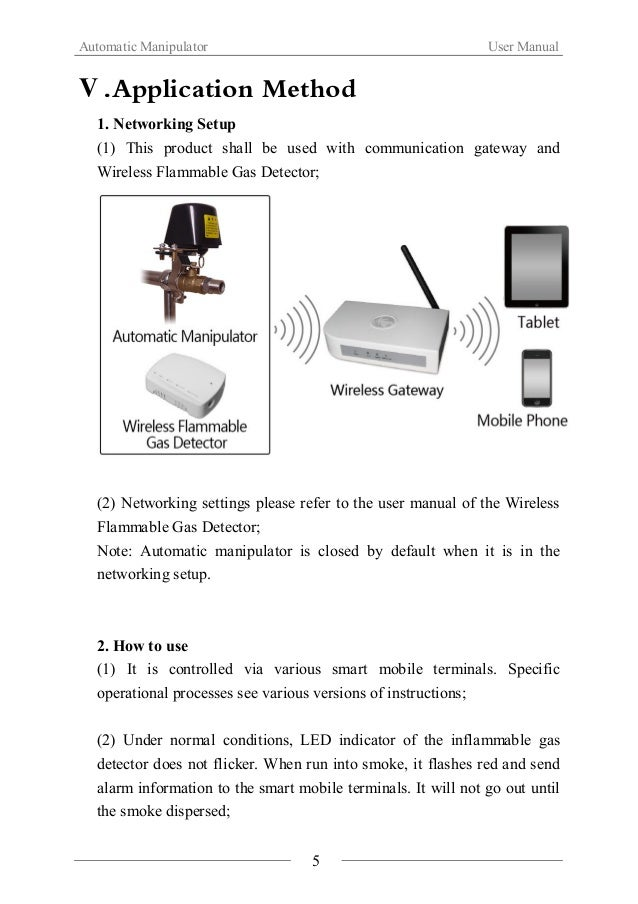Automatic Manipulator User Manual  (3) This product can also be controlled manually. Click【Multifunction  Key】of the infla...