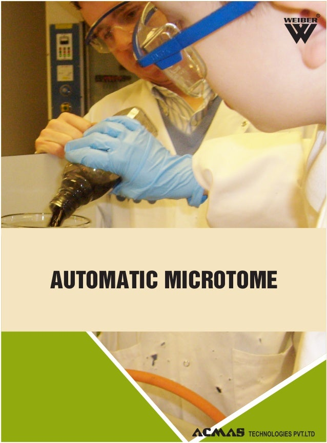 R AUTOMATIC MICROTOME