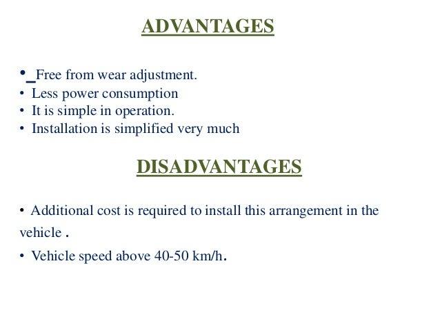 Automatic pneumatic brake & bumper for 4 wheelar ppt