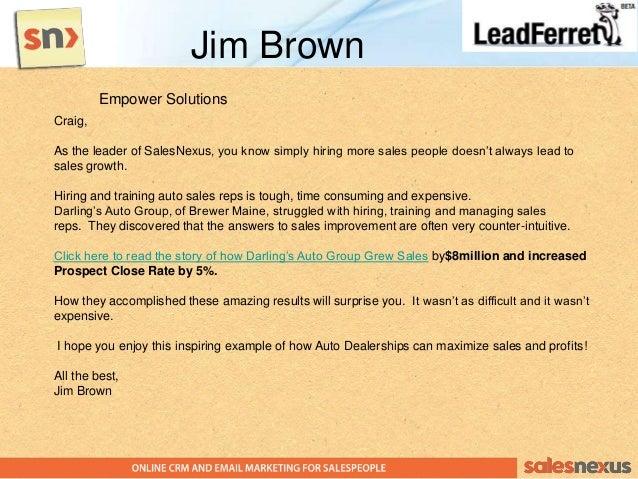 Automatic Sales Lead Generation Machine