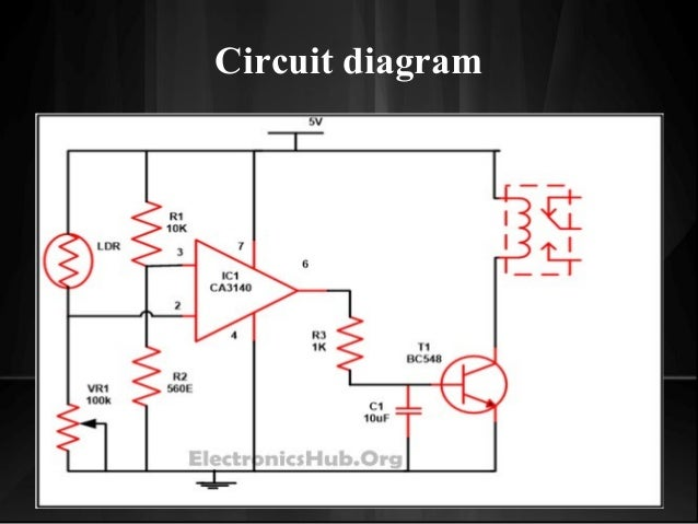 Circuit Diagram Of Automatic Street Light | Automatic Street Light Control System