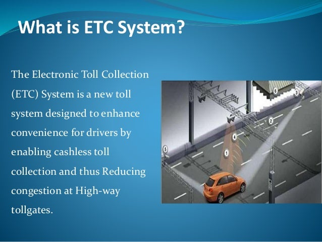 Automatic toll collection system (presentation)
