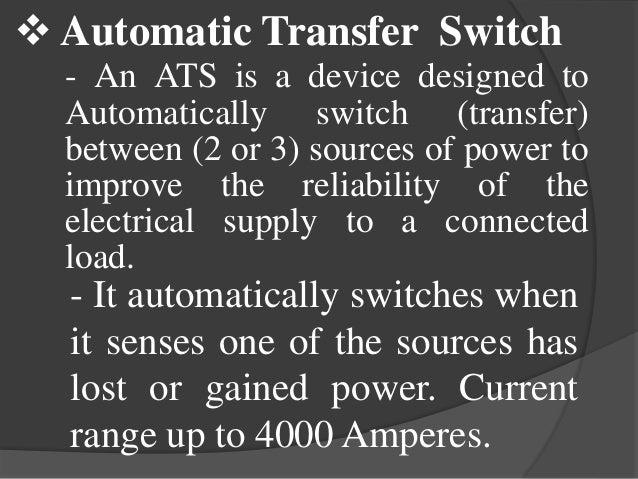 ats automatic transfer switch pdf