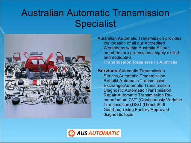 Automatic Transmission Specialist In Sydney