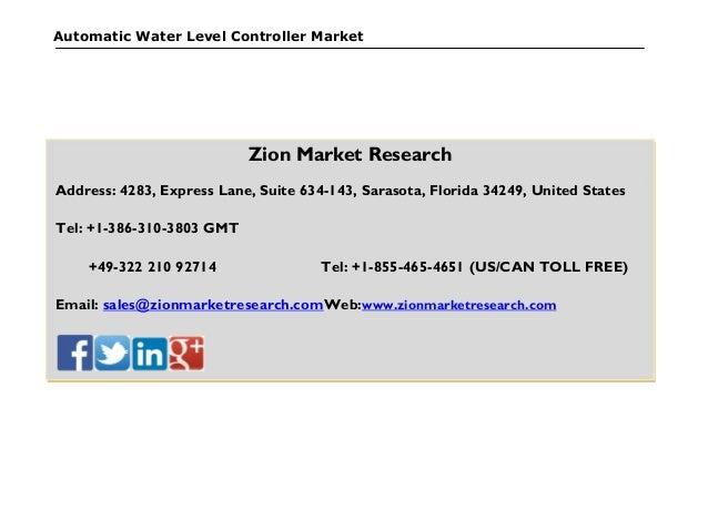 Of Automatic Water Level Controller Ajinkya Automatic Water