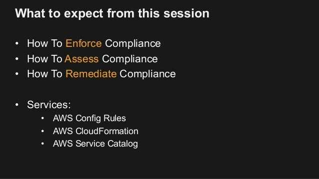Automating Compliance for Financial Institutions - AWS Summit SG 2017 Slide 2