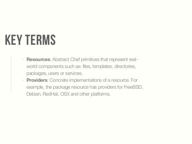 Automating your infrastructure with chef for Chef template resource