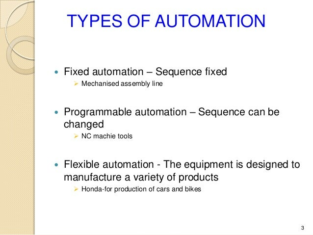 forms of automation Automation definition is - the technique of making an apparatus, a process, or a system operate automatically how to use automation in a sentence the technique of making an apparatus, a process, or a system operate automatically the state of being operated automatically.