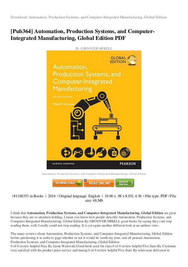 Systems groover production pdf automation