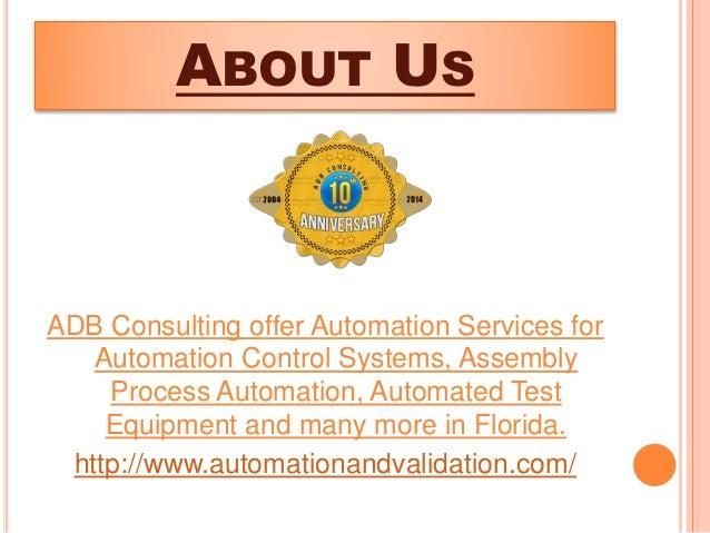 Automation Services - ADB Slide 2