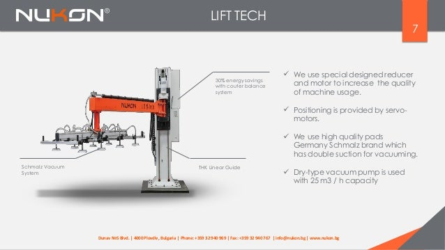 LIFT TECH 7  We use special designed reducer and motor to increase the quality of machine usage. 30% energy savings with ...