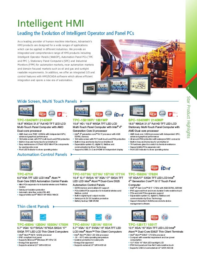 Advantech's Automation Devices & Computing Star Product