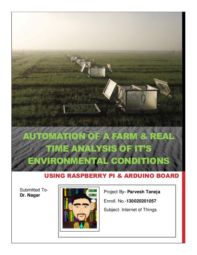 Automation of a farm