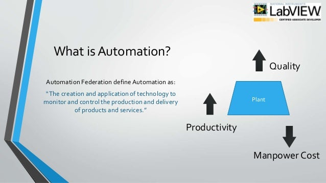 Automation of calibration of instruments using labview - Project PPT