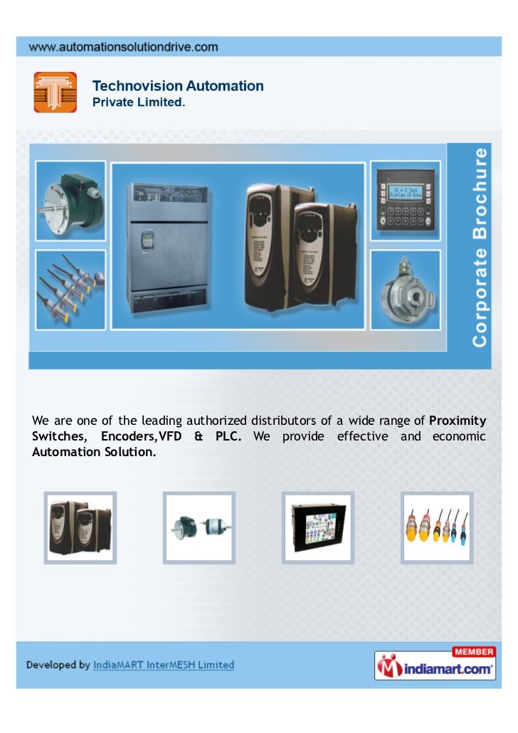 We are one of the leading authorized distributors of a wide range of ProximitySwitches, Encoders,VFD & PLC. We provide eff...