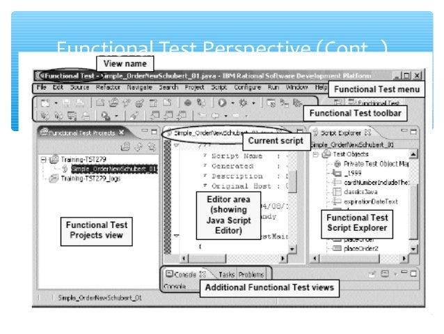 Ibm Functional Tester Resume