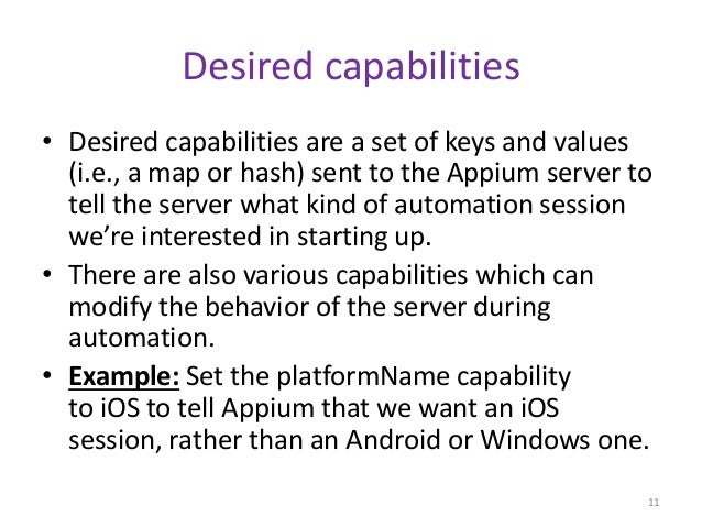 Automation testing on ios platform using appium