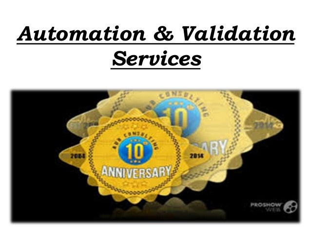 Automation & Validation Services