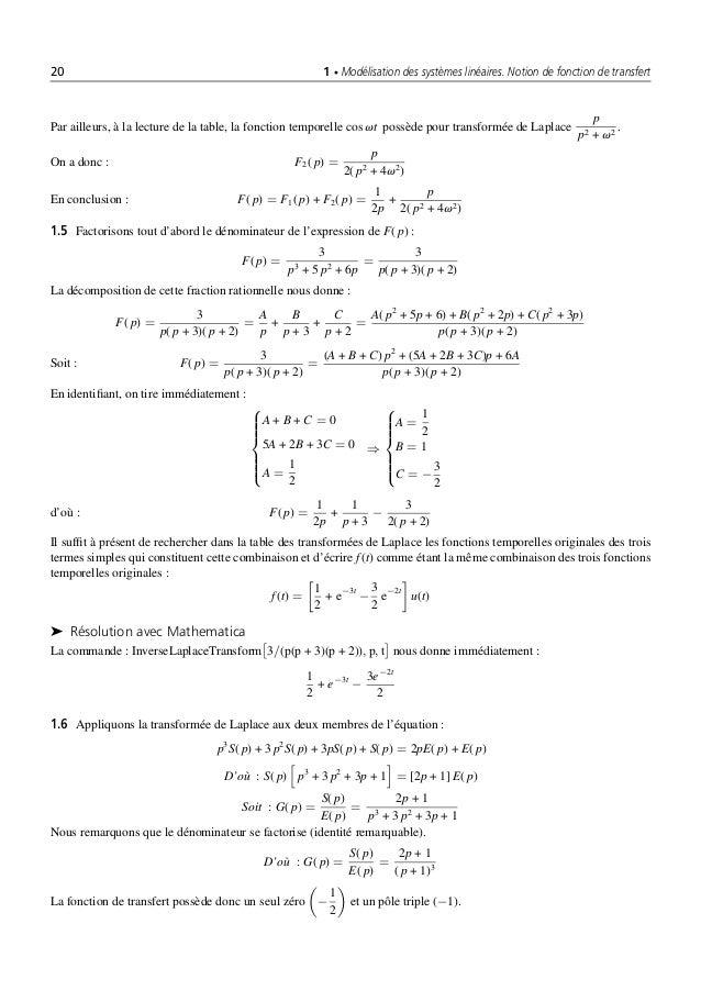 Automatique Systemes Lineaires Et Non Lineaires 2