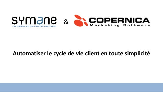Stand : J049 PARTENAIRE DE VOS PROJETS INNOVANTS & Automatiser le cycle de vie client en toute simplicité PARTENAIRE DE VO...