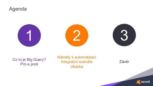 Automatizace velkých účtů s využitím Google Big Query Slide 2