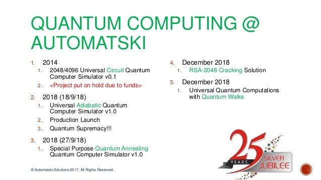 Automatski - RSA-2048 Cryptography Cracked using Shor's Algorithm on …