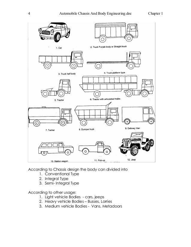 Old Chassi Engineering Schematic
