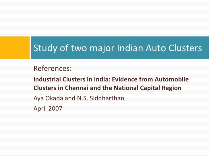 analysis of the styrian automotive cluster Trends in hina's automotive omponent  cluster for both auto parts  ipsos business consulting analysis.
