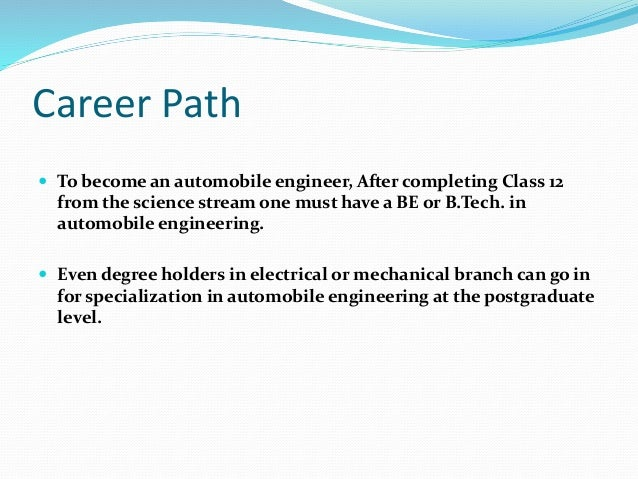 a report on career path to become a civil engineer essay Engineering can be a rewarding career but you may find that you lose interest alternative jobs for engineers [automotive engineer] | how to become an.
