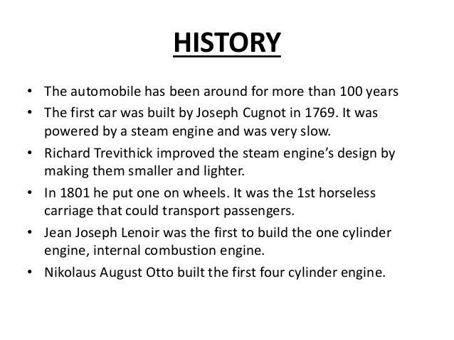 Automobile engineering Slide 3