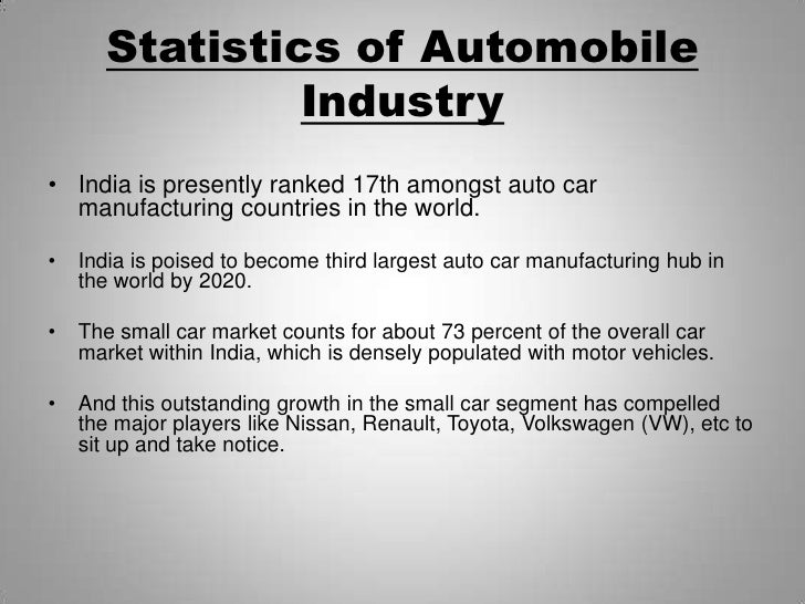 auto mobile industry Automotive news is the leading source of news about the global automotive industry.